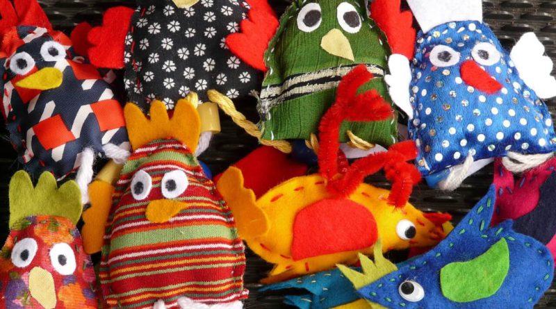 marionetas de dedo para niños